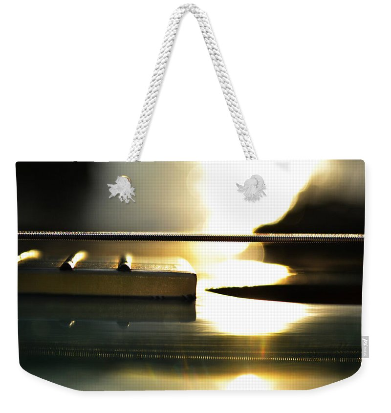 Laura Fasulo Weekender Tote Bag featuring the photograph The Color Of Music by Laura Fasulo