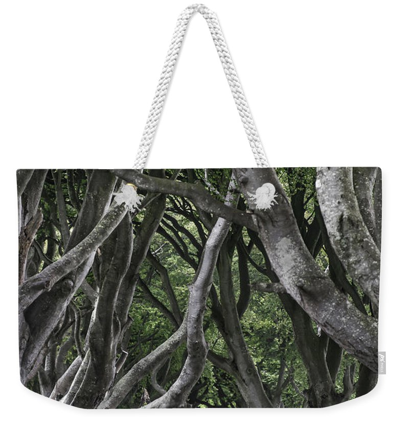 Beautiful Weekender Tote Bag featuring the photograph The Dark Hedges by Svetlana Sewell