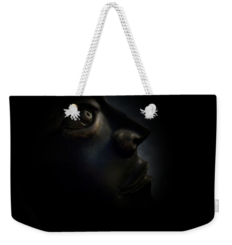 Man Weekender Tote Bag featuring the photograph The Darkest Hour by David Dehner