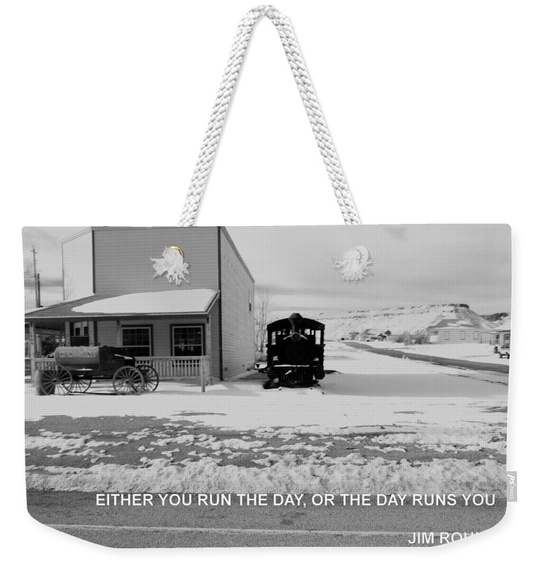 Weekender Tote Bag featuring the photograph The Day by Anthony Walker Sr