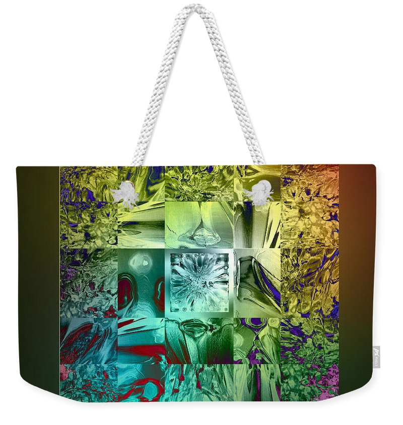 Devil Weekender Tote Bag featuring the digital art The Devil Is In The Details by Klara Acel
