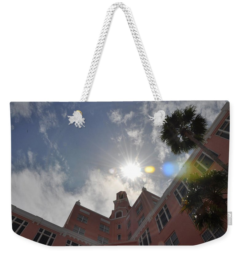 Don Weekender Tote Bag featuring the photograph The Don Cesear Hotel by Bill Cannon