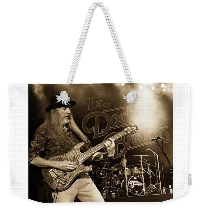 Doobie Brothers Weekender Tote Bag featuring the photograph The Doobie Brothers by Alice Gipson