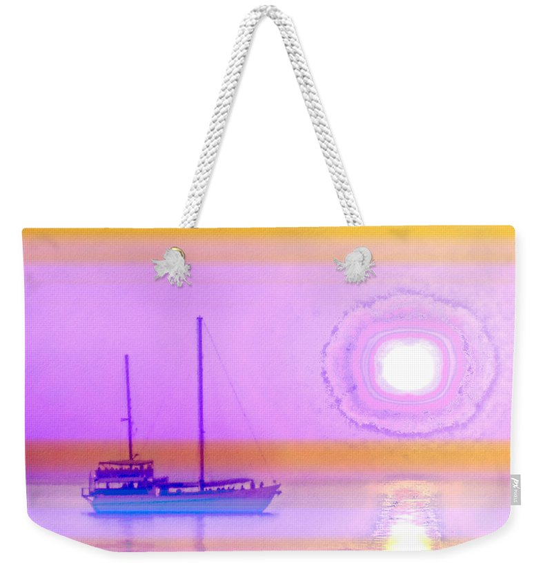 Seascapes Weekender Tote Bag featuring the photograph The Drifters Dream by Holly Kempe