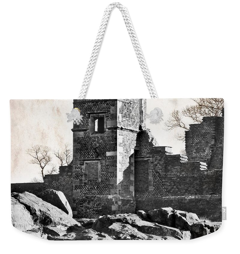 Ruins Weekender Tote Bag featuring the photograph The Empty Tower by Linsey Williams