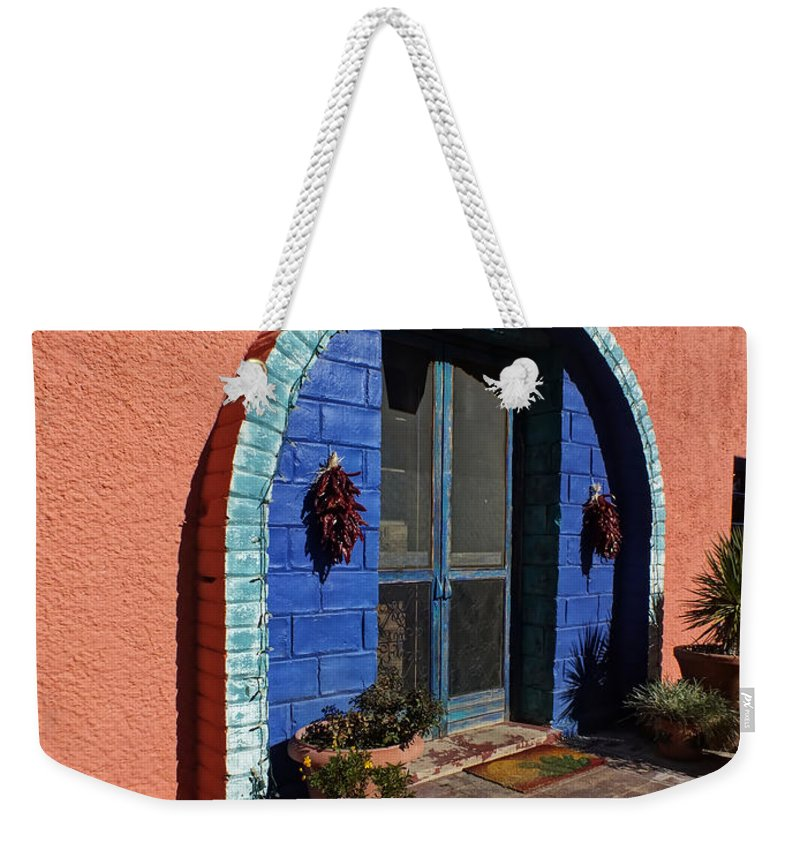 Lucinda Weekender Tote Bag featuring the photograph The Entrance by Lucinda Walter