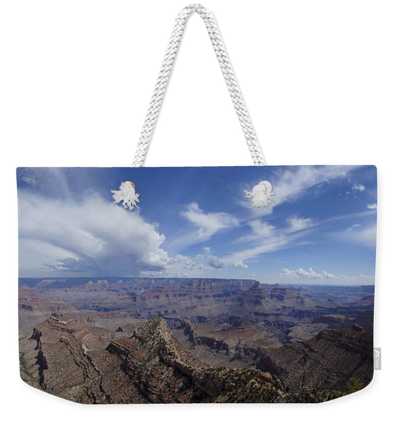 Grand Canyon Weekender Tote Bag featuring the photograph The Famous Grand Canyon by Brian Kamprath