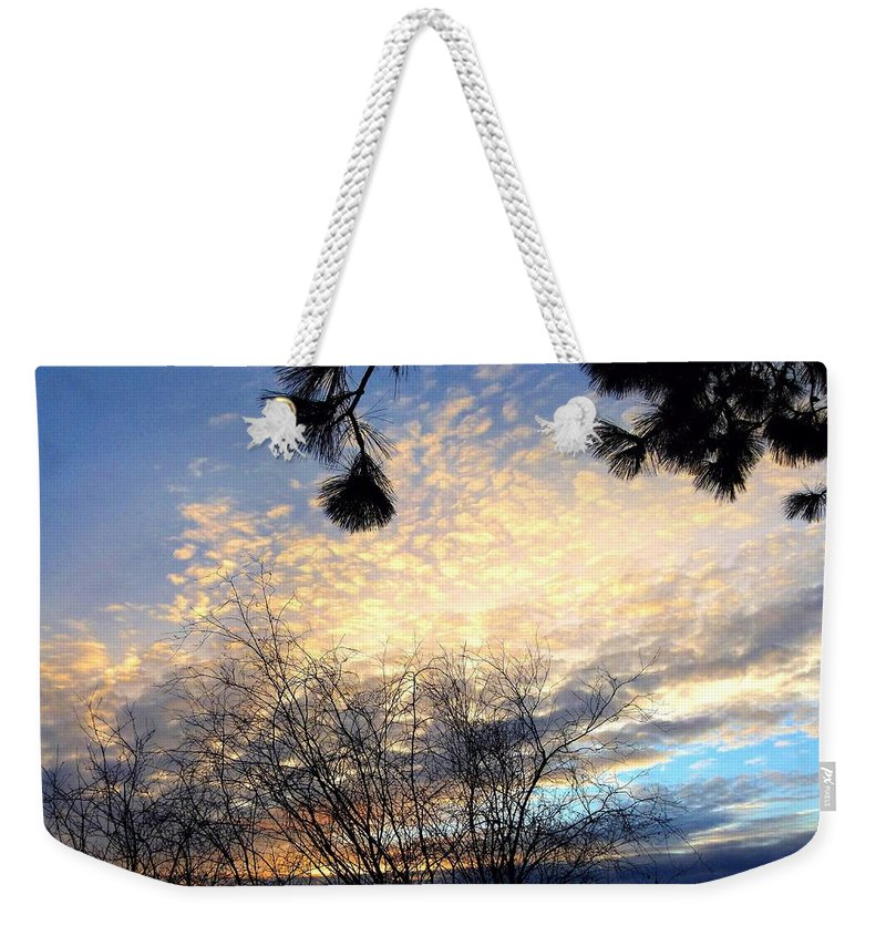 The Final Curtain Weekender Tote Bag featuring the photograph The Final Curtain by Will Borden