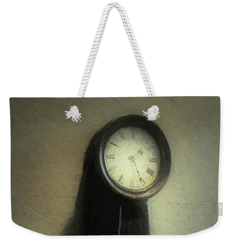 Antique Weekender Tote Bag featuring the painting The Forgiveness Of Time by RC DeWinter
