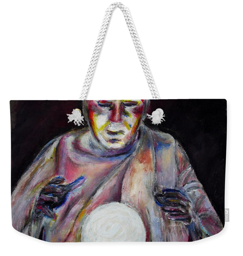 Fortune Tellers Weekender Tote Bag featuring the painting The Fortune Teller by Tom Conway