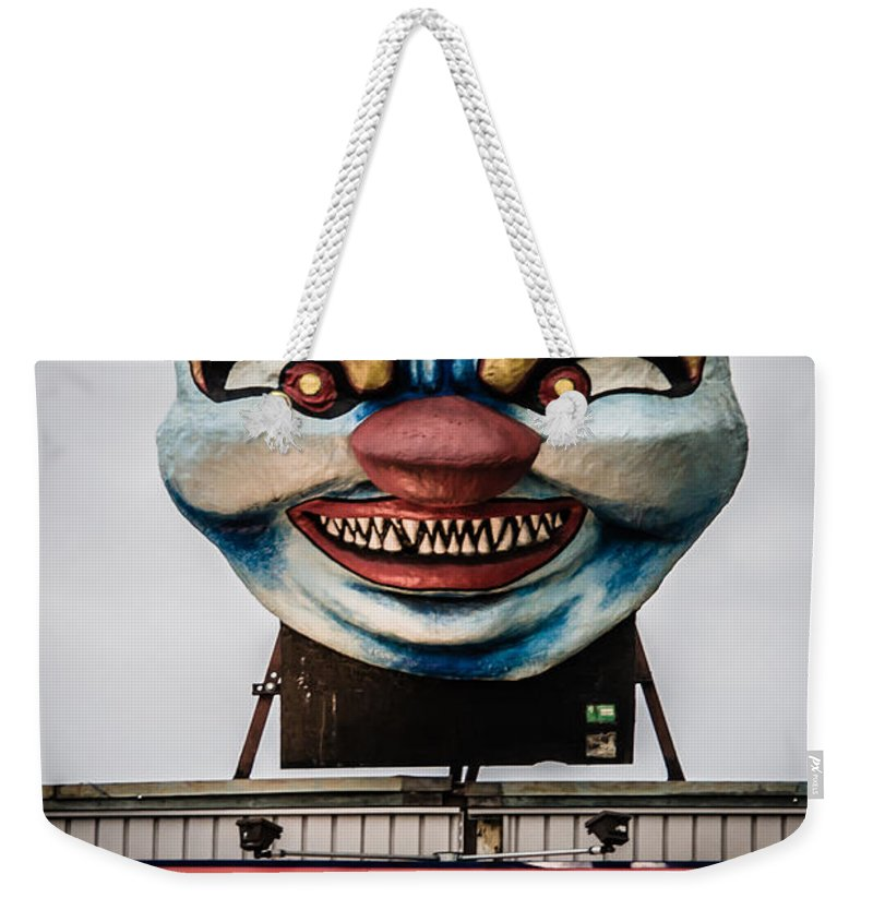2008 Weekender Tote Bag featuring the photograph The Funhouse by Melinda Ledsome
