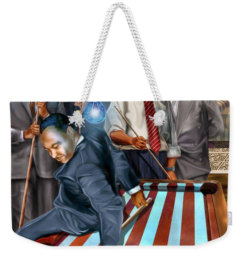 Democrat Weekender Tote Bags