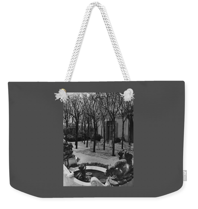The Garden Of A Home In Meridian Hill Weekender Tote Bag