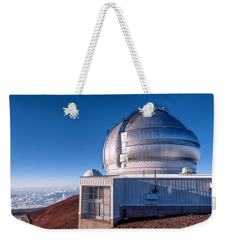Buildings Weekender Tote Bag featuring the photograph The Gemini Observatory by Jim Thompson