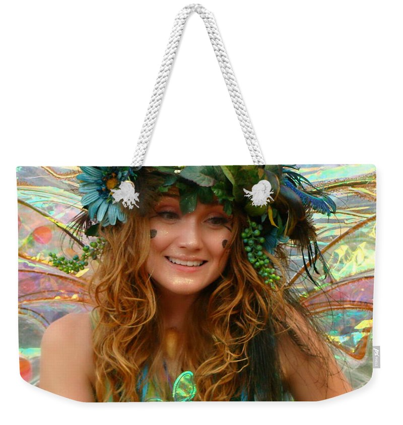 Fine Art Weekender Tote Bag featuring the photograph The Gift by Rodney Lee Williams