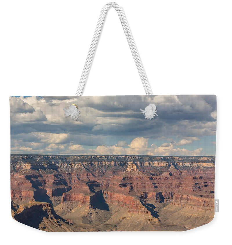 Grand Canyon Weekender Tote Bag featuring the photograph The Grand Canyon by Angela Stanton