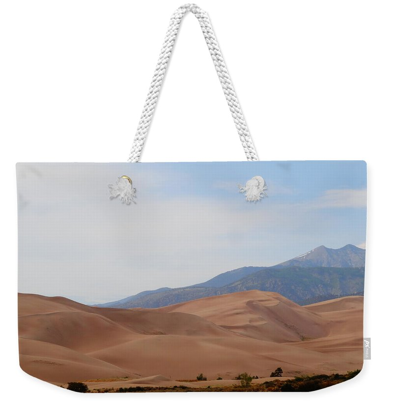 The Great Sand Dunes Weekender Tote Bag featuring the photograph The Great Sand Dunes by Dan Sproul