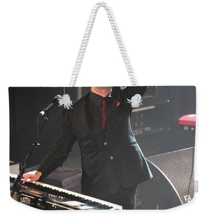 Concert Weekender Tote Bag featuring the photograph The Hold Steady by Concert Photos