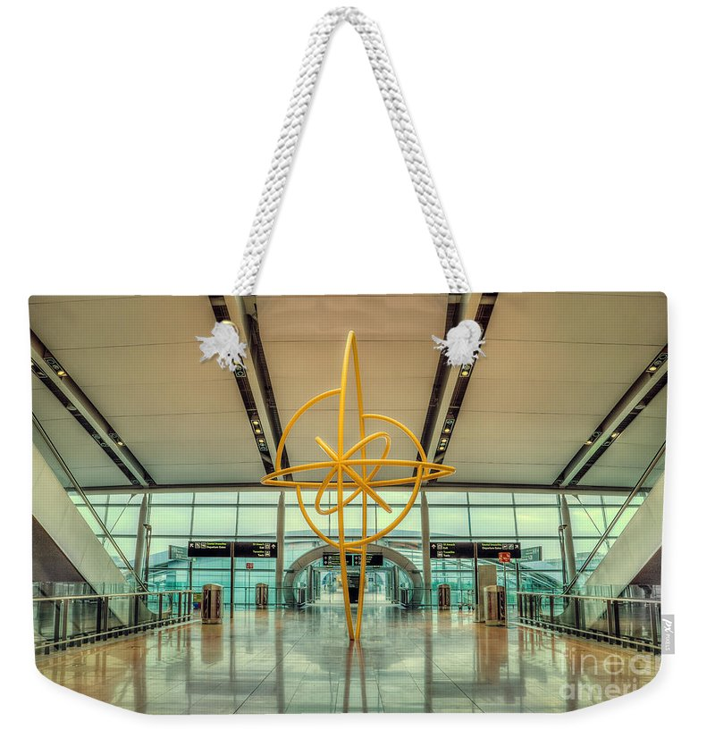 Dublin Weekender Tote Bag featuring the photograph The Journey Home by Evelina Kremsdorf
