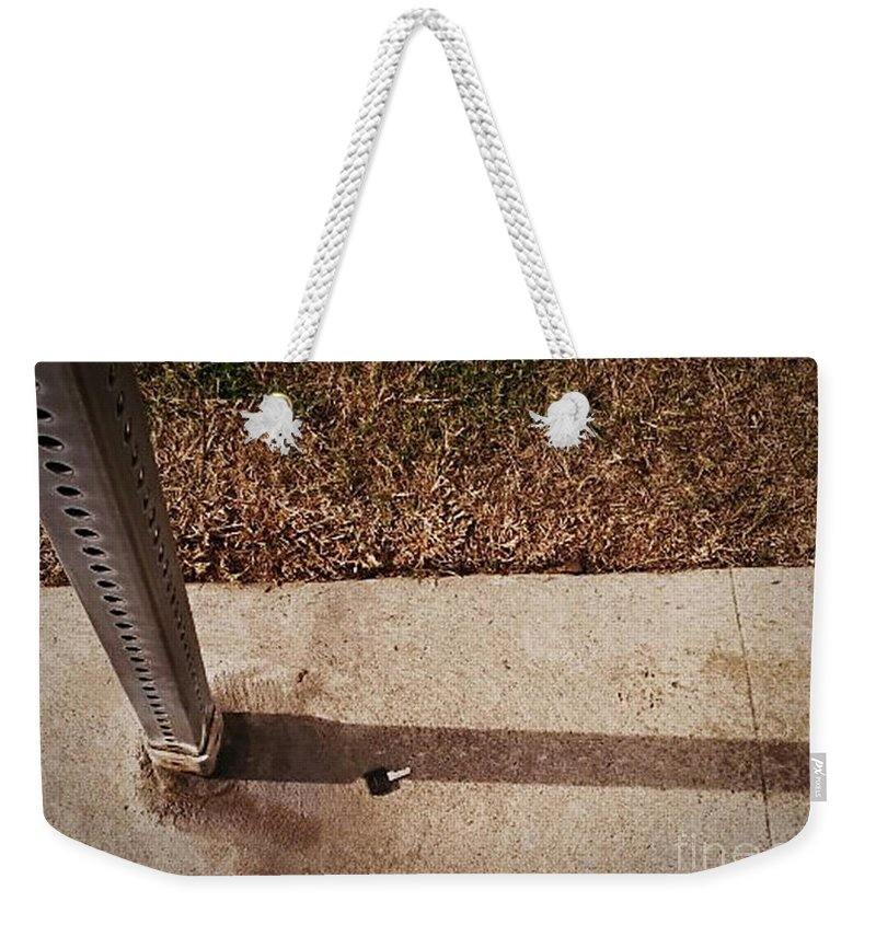 Street Snapshot Weekender Tote Bag featuring the photograph Key by Fei A