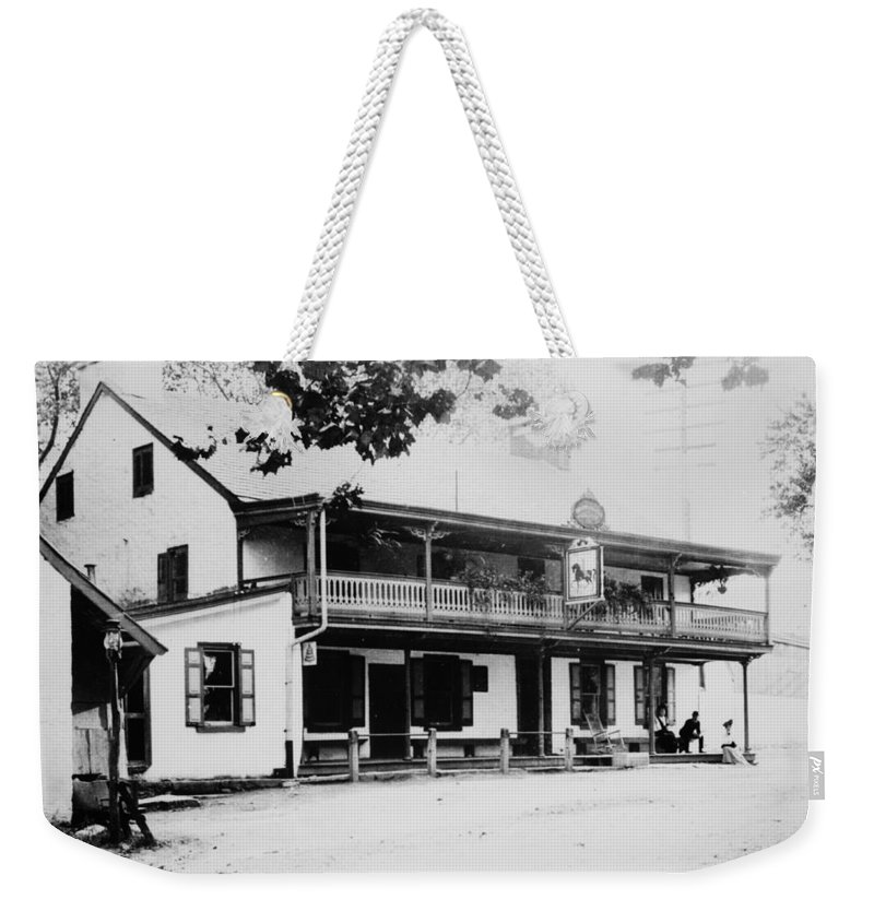 King Of Prussia Weekender Tote Bag featuring the photograph The King Of Prussia Inn by Bill Cannon