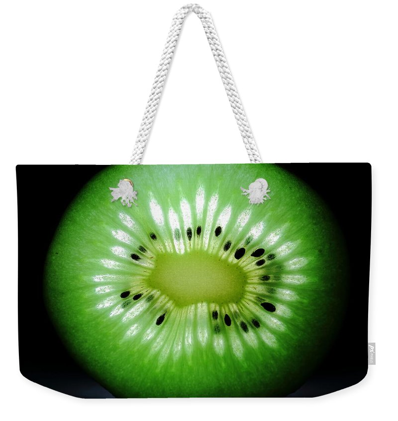 Food Weekender Tote Bag featuring the photograph The Kiwi Experiment by David Andersen