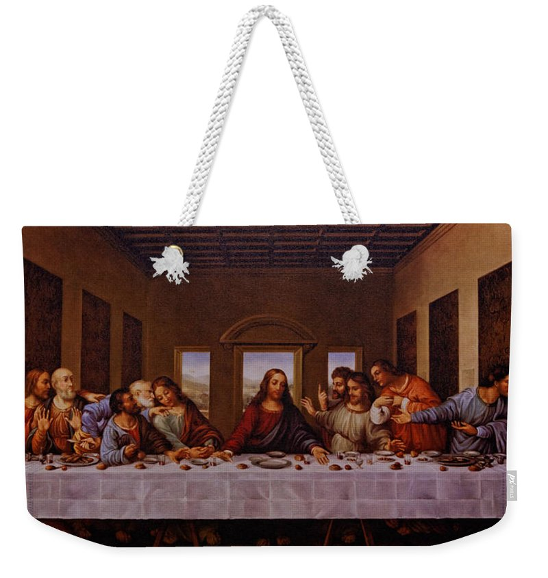 The Last Supper Weekender Tote Bag featuring the photograph The Last Supper by Jonathan Davison