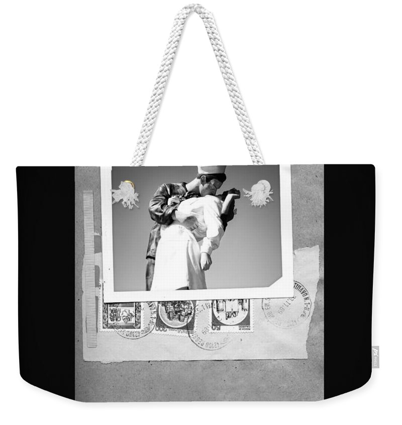 San Diego Weekender Tote Bag featuring the photograph The Letter Home by Image Takers Photography LLC - Carol Haddon