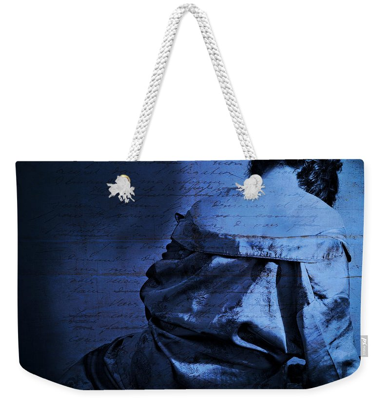 Portrait Of A Woman Photographs Weekender Tote Bags