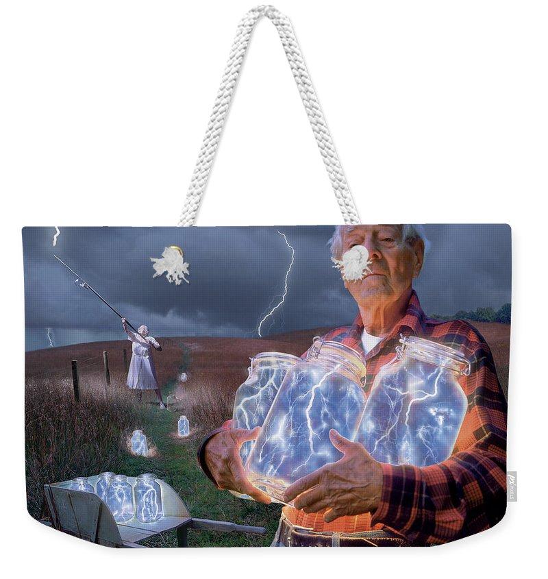 Energy Weekender Tote Bags