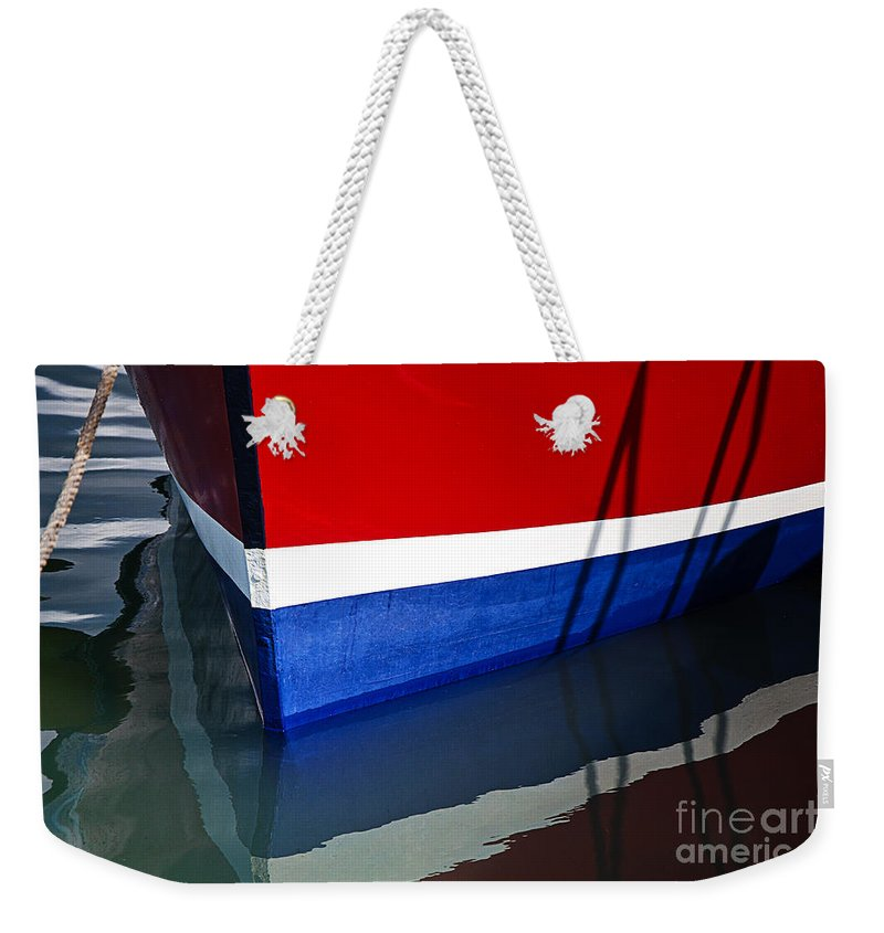Miss Pattie Weekender Tote Bag featuring the photograph The Lines Of Miss Pattie by Susie Peek
