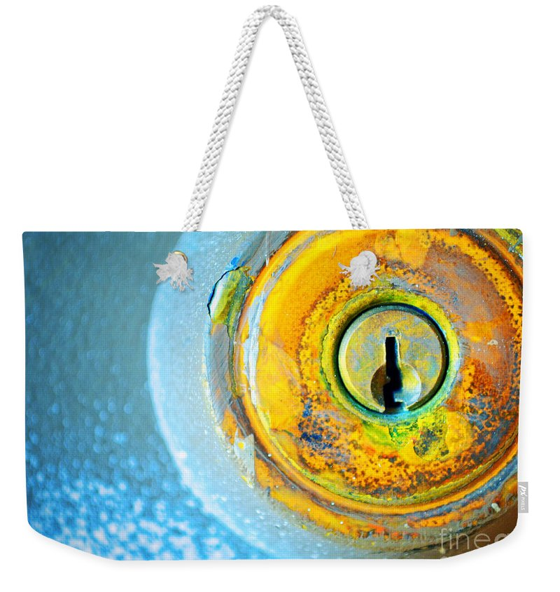Lock Weekender Tote Bag featuring the photograph The Lock by Tara Turner