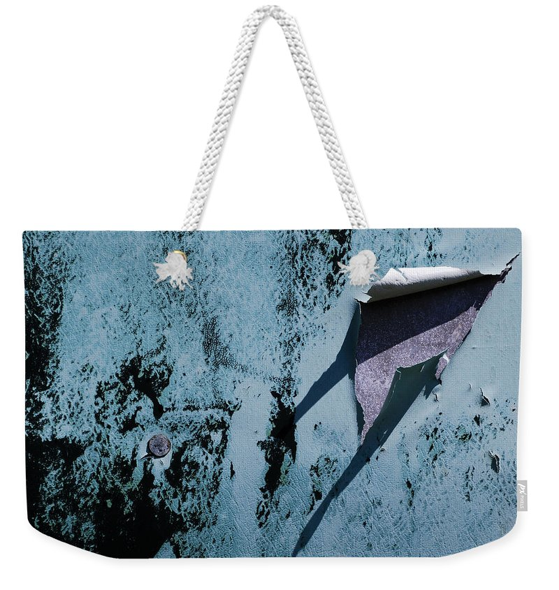 Old Weekender Tote Bag featuring the photograph The Long Shadow by Wendy Wilton