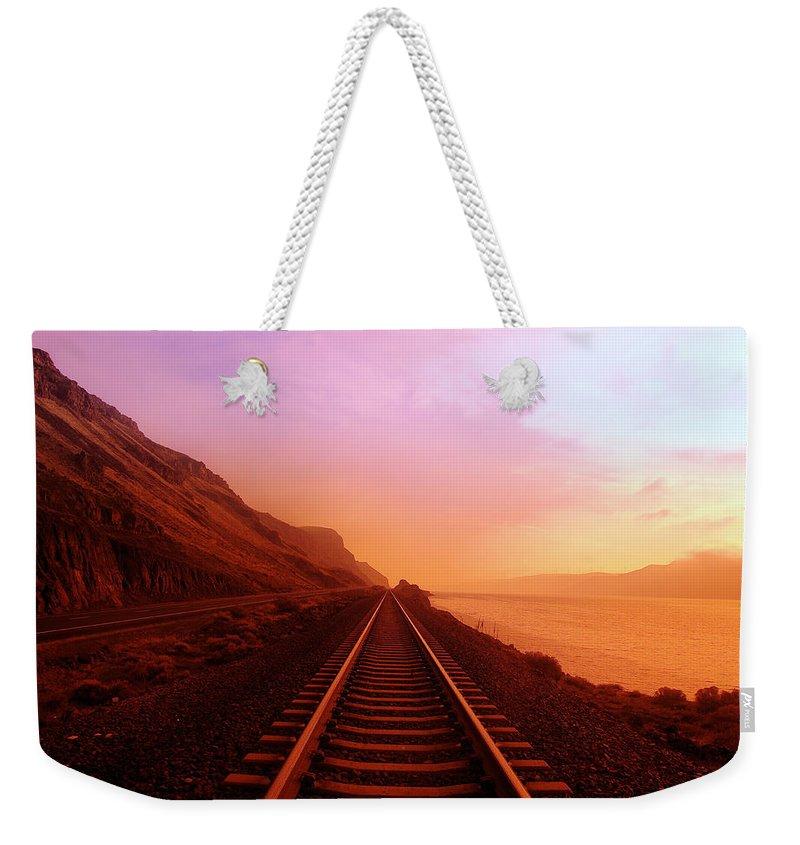 Exploration Weekender Tote Bags