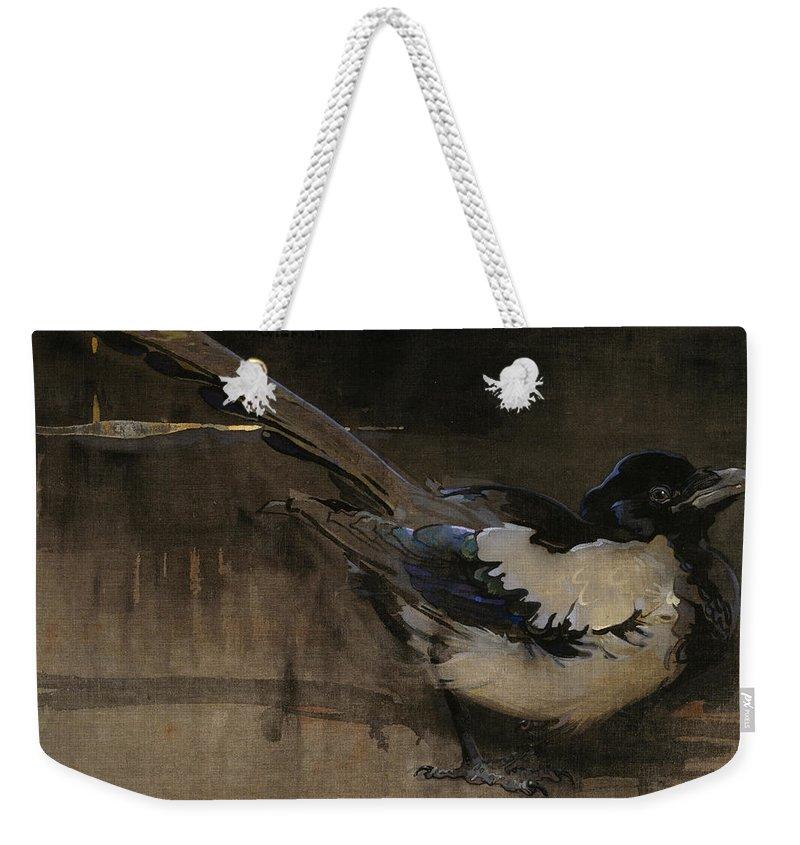 Magpies Weekender Tote Bags