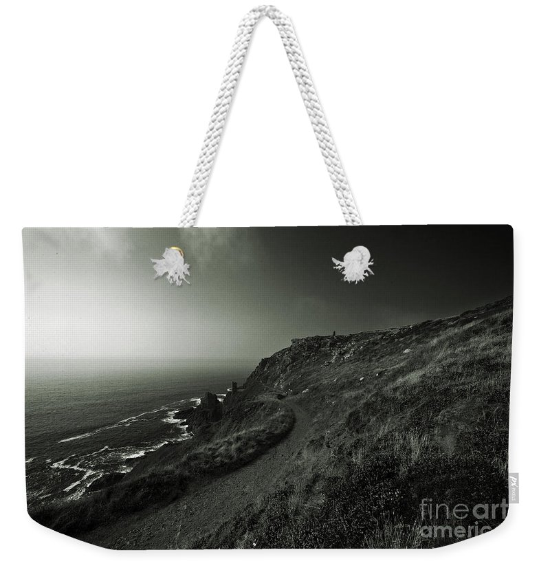 Bottallack Weekender Tote Bag featuring the photograph The Mines Of Bottallack by Rob Hawkins