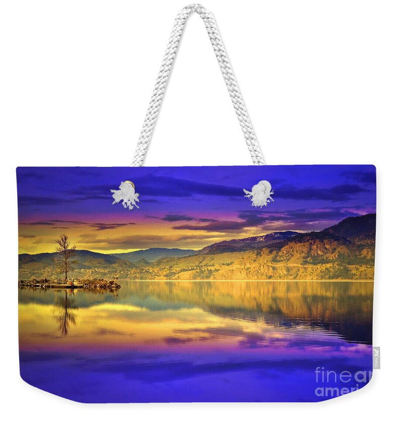 Glow Weekender Tote Bag featuring the photograph The Morning Glow by Tara Turner