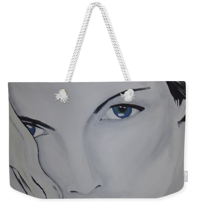 Beauty Weekender Tote Bag featuring the painting The Natural by Dean Stephens