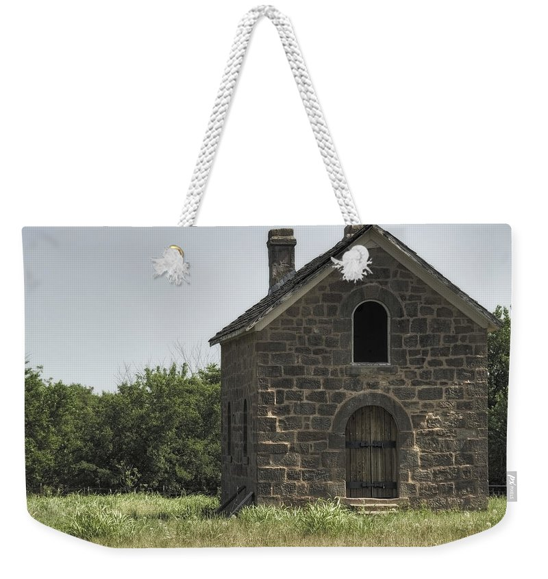 Sacred Weekender Tote Bag featuring the photograph The Old Bakery by Ricky Barnard