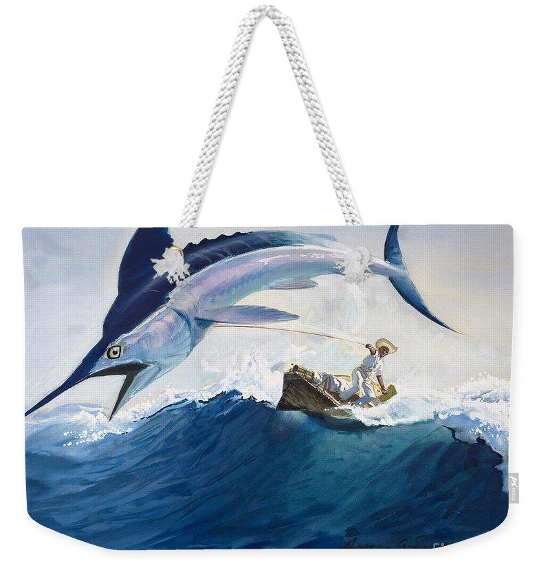 Swordfish Weekender Tote Bags
