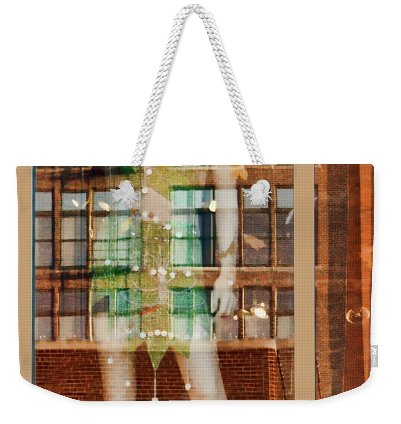Reflection Weekender Tote Bag featuring the photograph The Other Side Of The Story #2 by Nikolyn McDonald