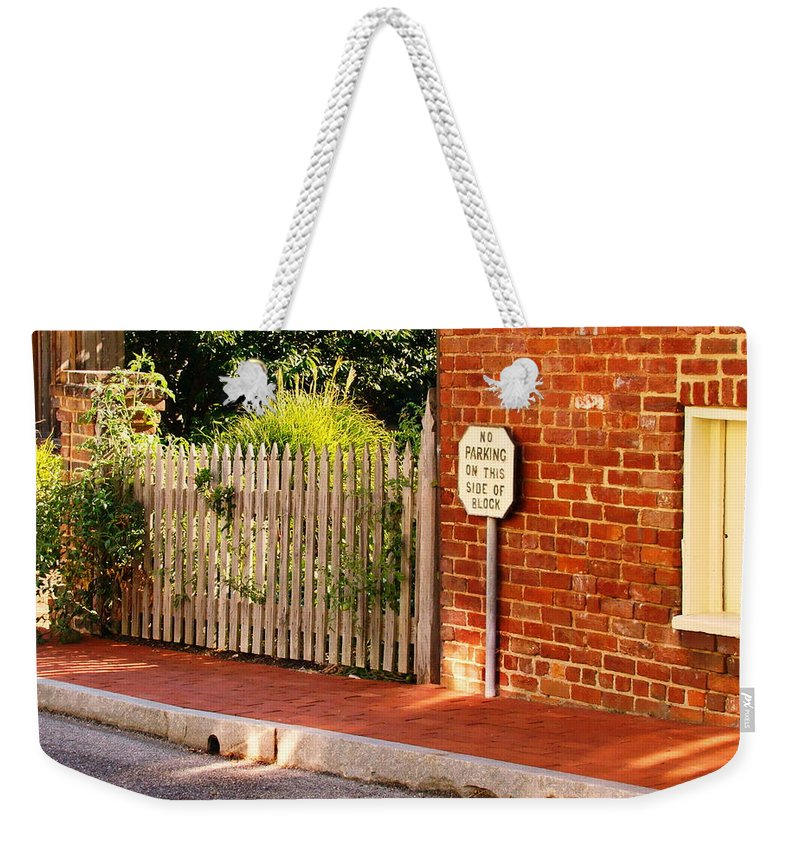 Fine Art Weekender Tote Bag featuring the photograph The Other Side by Rodney Lee Williams