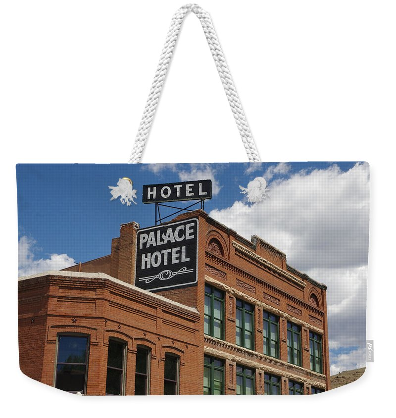 Colorado Photographs Weekender Tote Bag featuring the photograph The Palace by Gary Benson