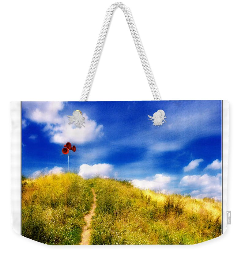 Away Weekender Tote Bag featuring the photograph The Path by ARTSHOT - Photographic Art
