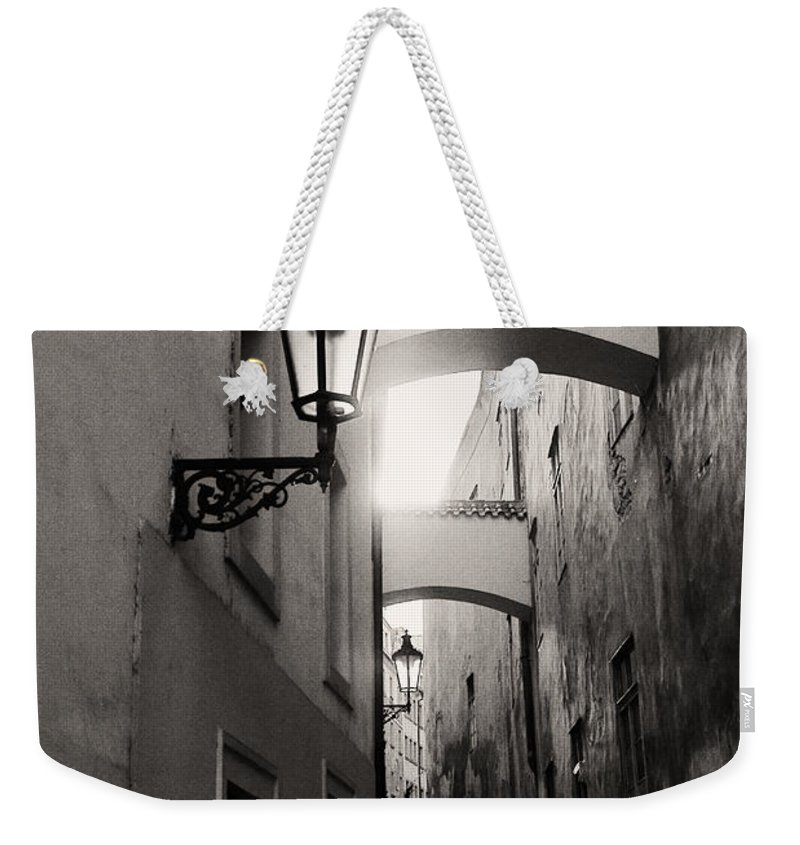 Photography Weekender Tote Bag featuring the photograph The Path by Ivy Ho