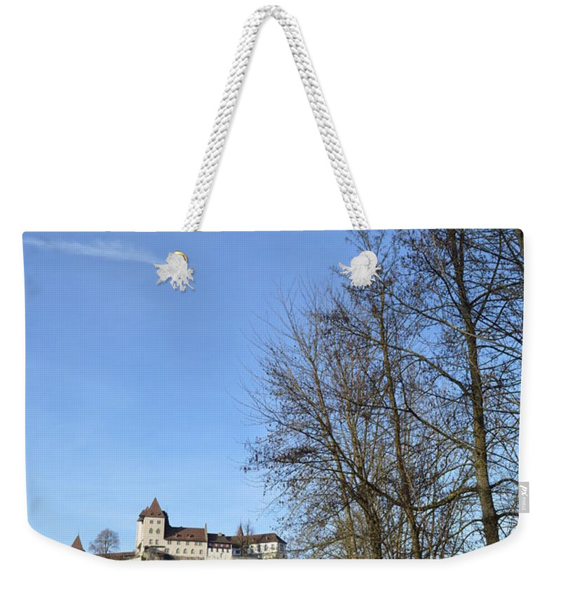 Landscape Weekender Tote Bag featuring the photograph The Path To The Castle by Felicia Tica