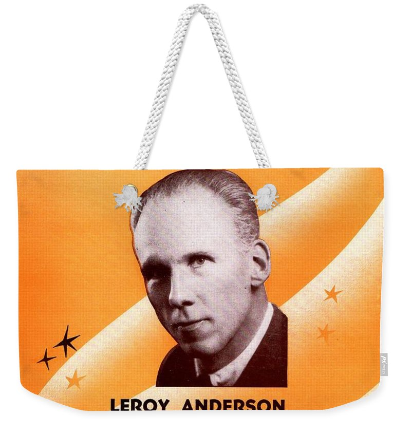 Nostalgia Weekender Tote Bag featuring the photograph The Penny Whistle Song by Mel Thompson