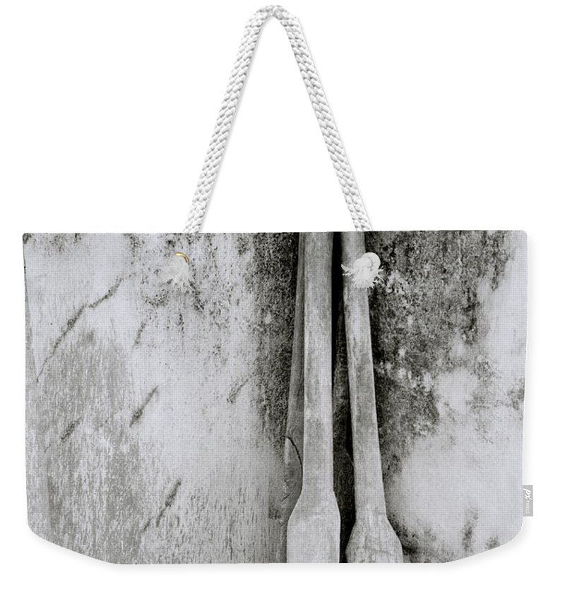 Simplicity Weekender Tote Bag featuring the photograph The Spice Pestle by Shaun Higson
