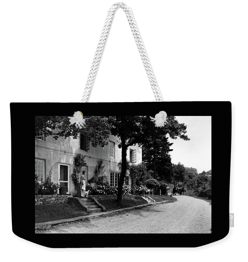 The Platt's House In New Jersey Weekender Tote Bag