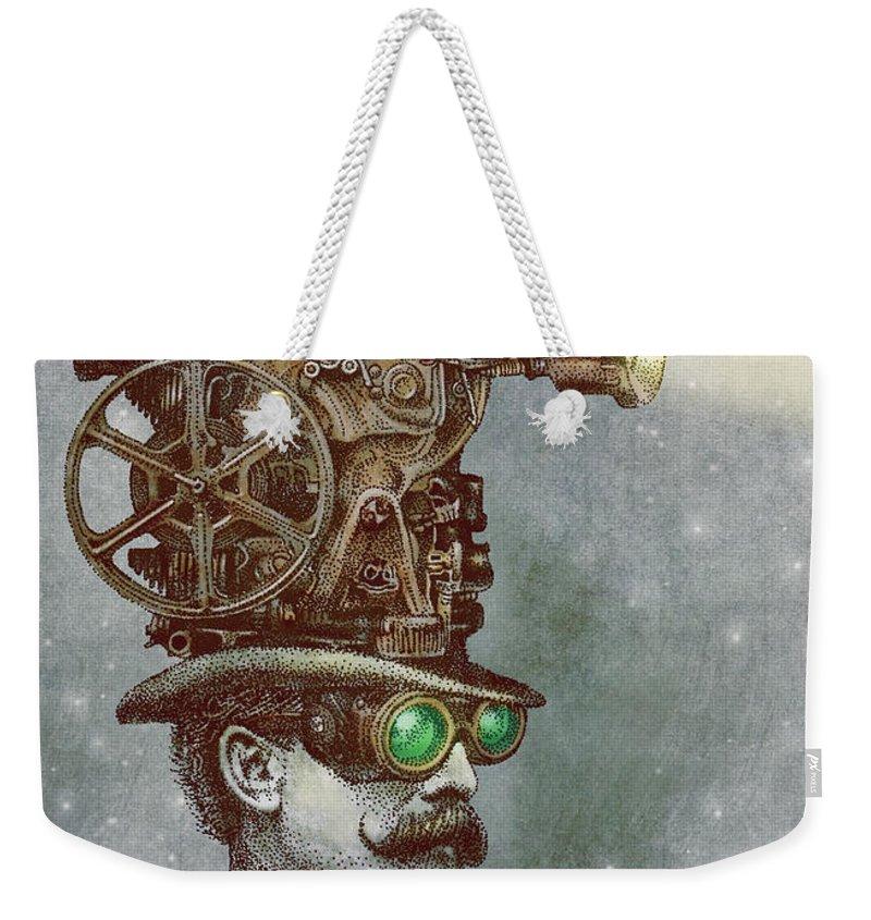 Antique Drawings Weekender Tote Bags